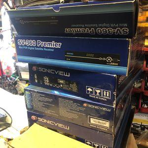Sonicview SV-360 Premier Mini PVR Digital Satellite Receiver for Sale in Oak Forest, IL