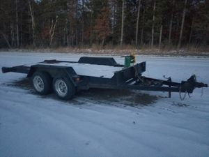 16' tilt car trailer for Sale in Menahga, MN