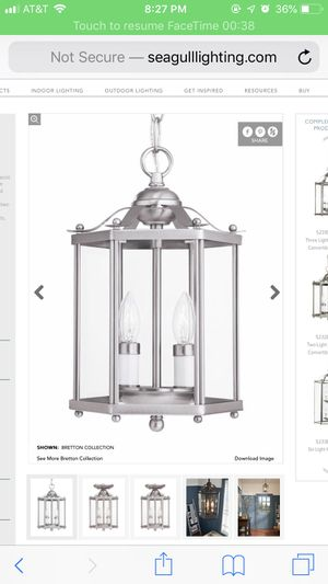 TWO LIGHT - Light Fixture for Sale in San Antonio, TX