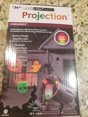 New Holloween projector for Sale in Bloomington, IL