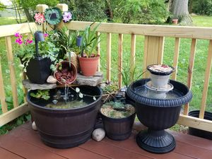 Fish pond and water fountains for Sale in Pearl River, NY