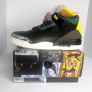 Jordan 3 Retro SE Animal Instinct 2.0 Sneakers Men's Size 6 for Sale in Houston, TX