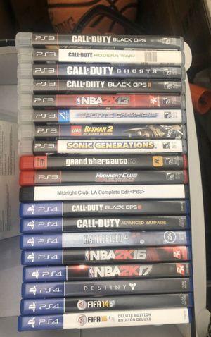 PS3/ PS4/ Wii/ XBOX/ PS VITA Video Games for Sale in Miami, FL