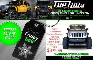 Transformer Thirteen Bumper Jeep Wrangler JK for Sale in Arlington, TX