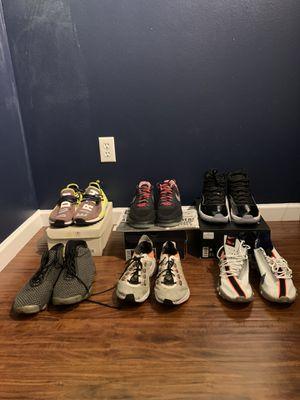 Jordan 11 human race Air Force Nike for Sale in Tacoma, WA