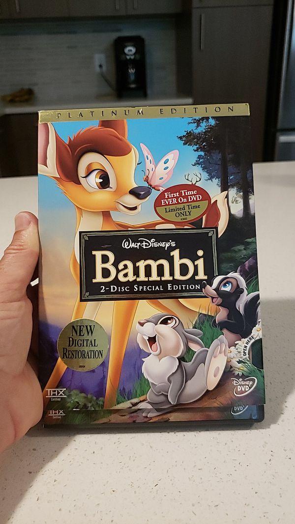 BAMBI, 2 disc Platinum Edition