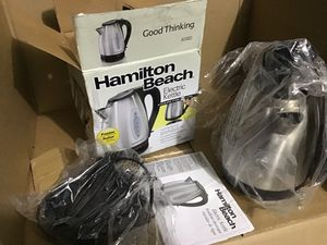 Hamilton beach electric kettle for Sale in Las Vegas, NV