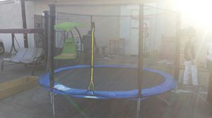 New 12ft trompolin in tebox for Sale in Fontana, CA