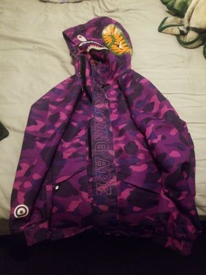 Authentic bape jacket for Sale in Daly City, CA