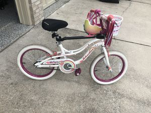 Beautifull Girl Bike for 5 to 9 year old for Sale in Bowie, MD