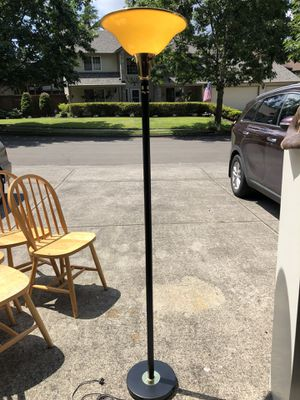 Torchiere floor lamp for Sale in Vancouver, WA