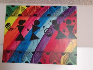 Warli painting for Sale in Irving, TX