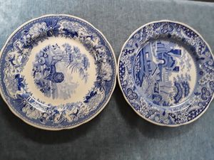 White and blue china plates for Sale in Federal Way, WA