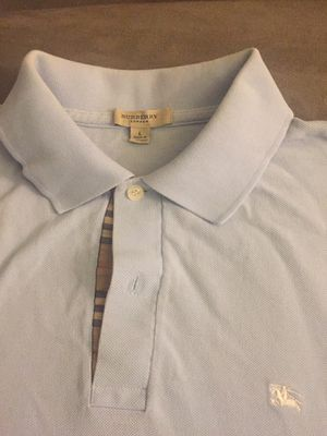 Burberry Polo Shirt Long Sleeve (Size L) for Sale in West Springfield, VA