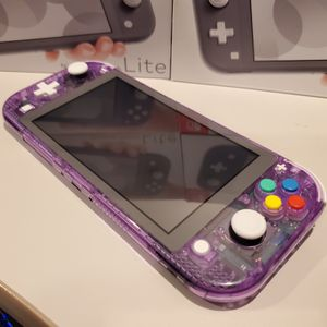 Custom Nintndo switch lite atomic purple with famicom buttons for Sale in Pico Rivera, CA