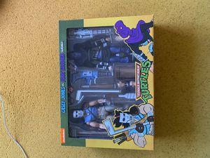 Neca TMNT Casey Jones Vs Foot Soldier for Sale in Huntington Beach, CA