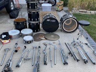 8 Piece Double Bass Ludwig Set. for Sale in Trabuco Canyon,  CA