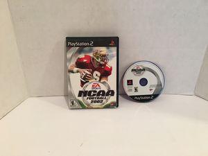 Playstation 2 ps2 NCAA Football 2002 Game for Sale in San Bernardino, CA