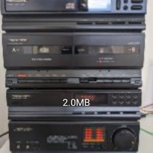 Disc Player,stereo dual Deck,synthesized Tuner,integrated Amplifier for Sale in Los Angeles, CA