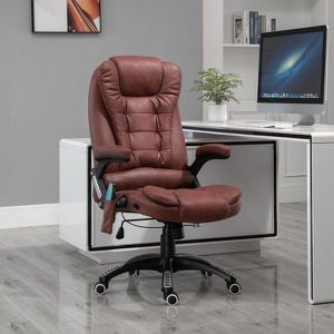 Office Chair High Back Vibrating Massage Chair Height Adjustable for Sale in Los Angeles, CA