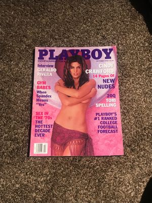 October 1998 playboy magazine Cindy Crawford for Sale in Costa Mesa, CA