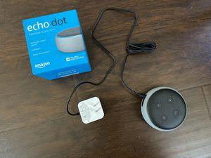 Amazon Echo dot 3rd gen bluetooth sound box (Alexa) for Sale in El Cajon, CA