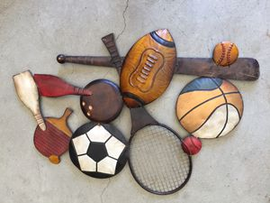 Sports wall decor for Sale in Palmdale, CA