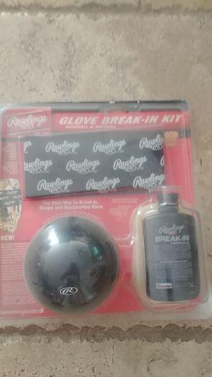 Baseball glove break-in kit for Sale in Chula Vista, CA
