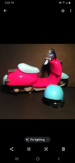 """OG 18"""" Doll Moped Motorcycle Fits American Girl for Sale in Rancho Cucamonga, CA"""