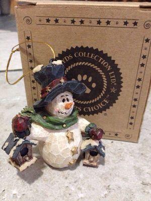Boyd's Bears Christmas ornament Carvers Choice for Sale in Milton, WA