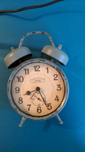Antique clock with alarm for Sale in Boston, MA