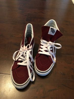 Vans High Top Burgundy for Sale in Los Angeles, CA