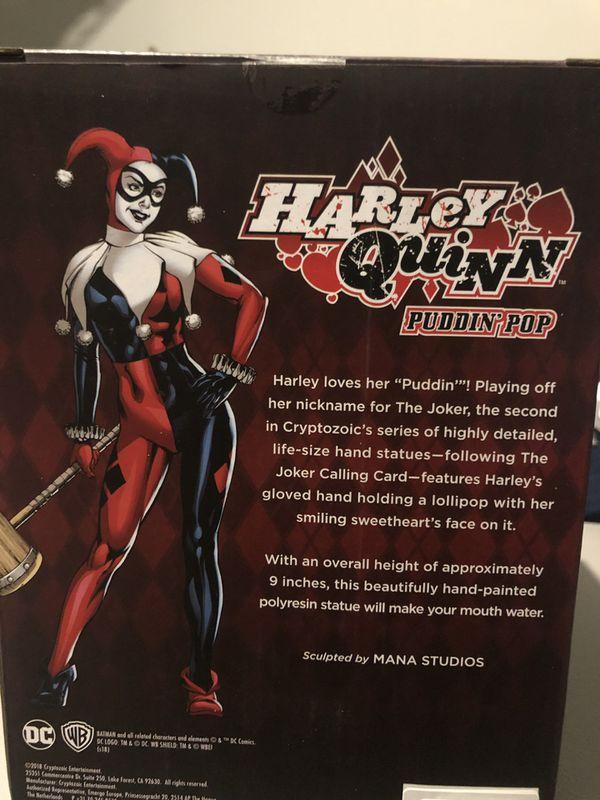 Harley Quinn Puddin' Pop Statue