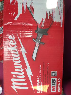 Hacksaw milwaukee saw new in box for Sale in Pittsburgh, PA
