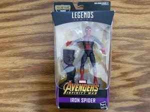 Marvel Legends Iron Spider (spiderman) Avengers Infinity War action figure for Sale in Cumming, GA