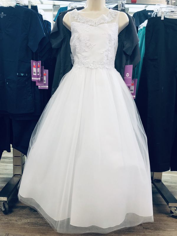 NEW WITH TAGS!!! White Formal size 16 and 18 available.