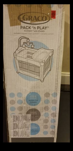 Baby crib and play pin/changing table for Sale in Hamlet, NC
