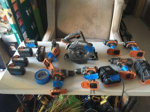 Rigid tool set 18V for Sale in Cypress Gardens, FL