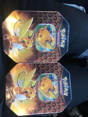 Pokemon Hidden Fates tin for Sale in Rancho Cucamonga, CA