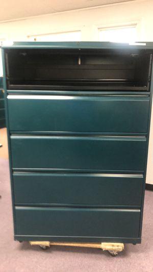 Heavy duty 5 drawer file cabinet for Sale in Avon, MA