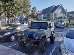 Jeep Wrangler 2002 for Sale in Orlando, FL