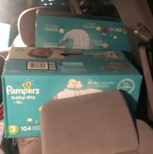 PAMPERS AND Wipes for Sale in Columbus, OH