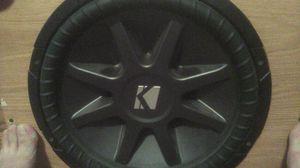 Kicker Comp. CVR 15in. Dual Voice Coil for Sale in Cottonport, LA