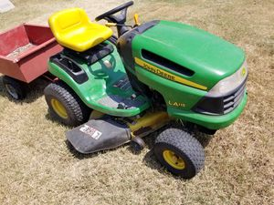 Small tractor and trailer for Sale in Fort Worth, TX
