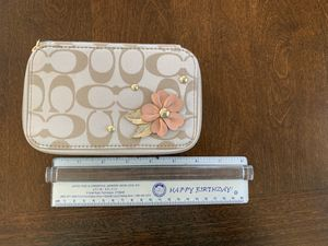 Coach Jewelry Travel Case for Sale in West Haven, CT