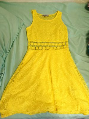 Bright yellow dress for Sale in Williamsport, PA