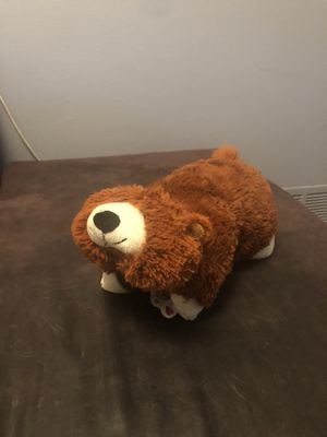 Plush bear pillow pet for Sale in San Antonio, TX