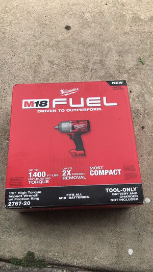 New Milwaukee impact wrench 1/2 for Sale in Orlando, FL
