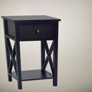 Nightstand With Drawer And Shelf for Sale in Riverside, CA
