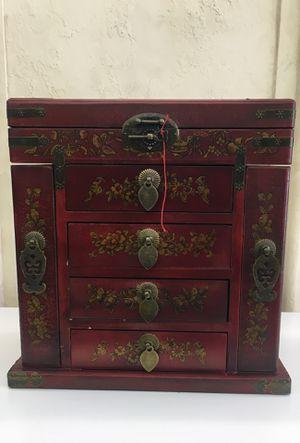 Beautiful oriental jewelry box for Sale in Louisburg, NC